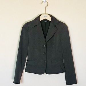 Tahari brown blazer size 2 petite
